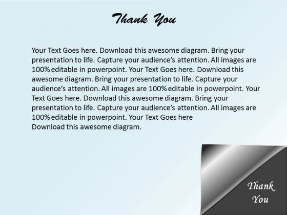 Thank You PowerPoint Slides Presentation Diagrams Templates