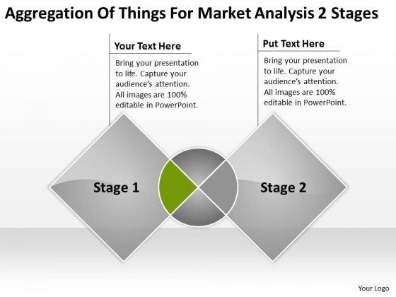 Things For Market Analysis 2 Stages Ppt Sample Business Plan