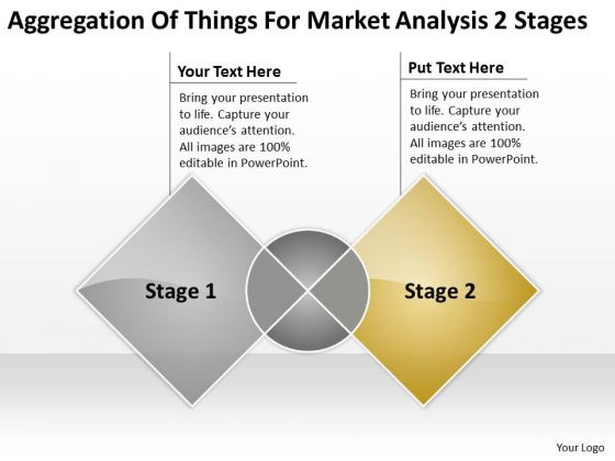 Things For Market Analysis 2 Stages Ppt Sample Business Plans PowerPoint Templates