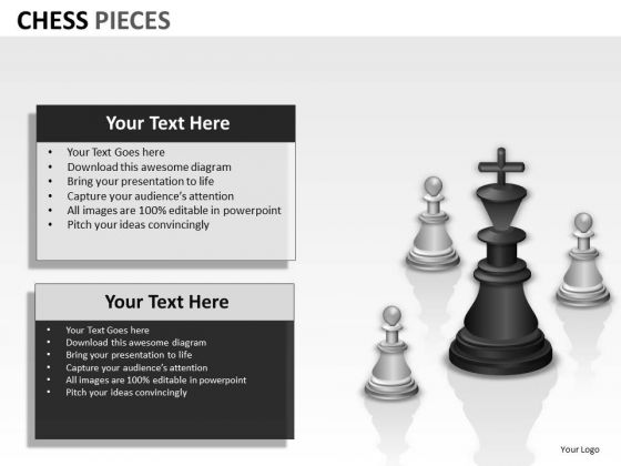 Think Chess Pieces PowerPoint Slides And Ppt Diagram Templates