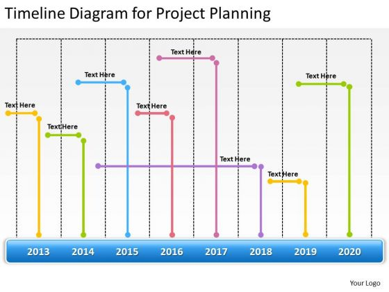 Timeline Diagram For Project Planning Ppt Business Templates PowerPoint