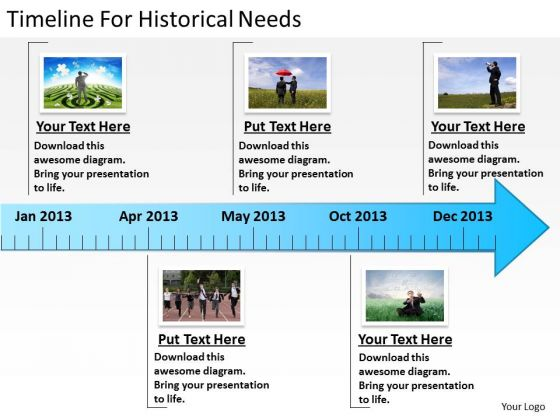 Timeline For Historical Needs Ppt Business Plan PowerPoint Templates