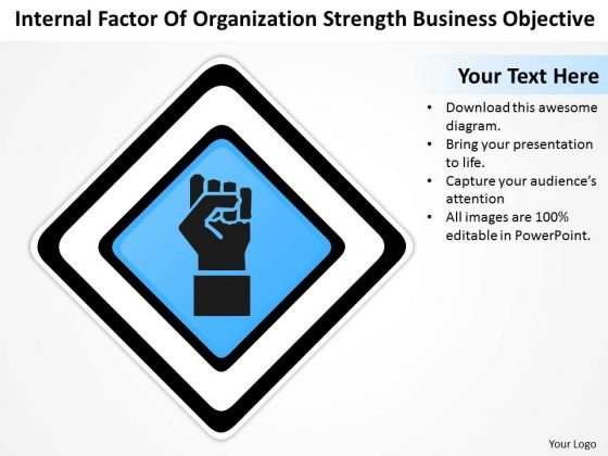 Timeline Internal Factor Of Organization Strength Business Objective
