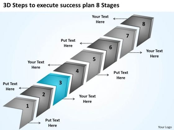 To Execute Success Plan 8 Stages Business For Non Profit Organization PowerPoint Slides