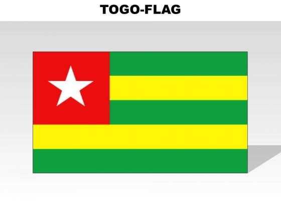 Togo Country PowerPoint Flags