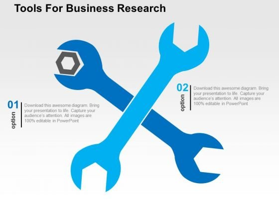 Tools For Business Research PowerPoint Templates