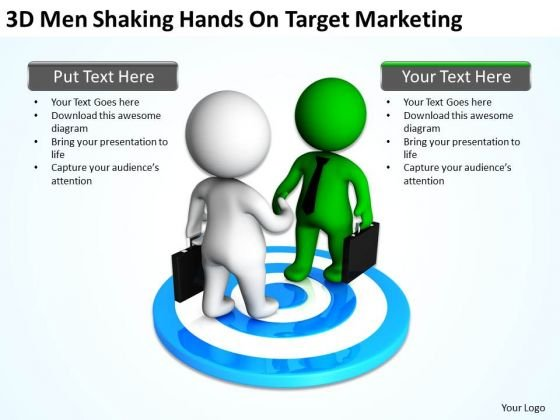 Top Business People Hands On Target Marketing PowerPoint Templates Ppt Backgrounds For Slides