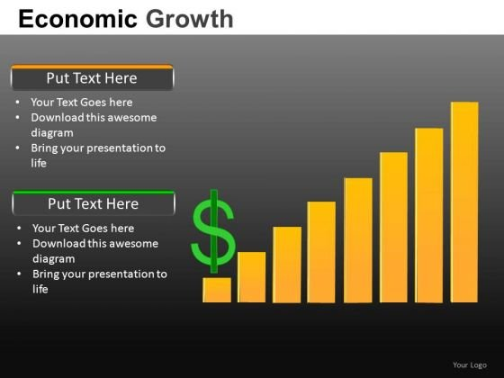 Topline Finance Growth PowerPoint Templates