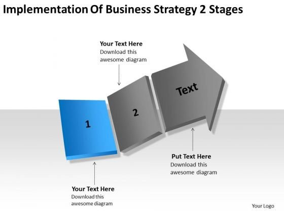 Total Marketing Concepts 2 Stages Ppt Sample Small Business Plan PowerPoint Templates