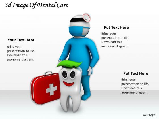 Total Marketing Concepts 3d Image Of Dental Care Basic Business