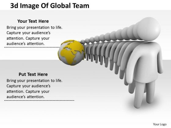 Total Marketing Concepts 3d Image Of Global Team Basic Business