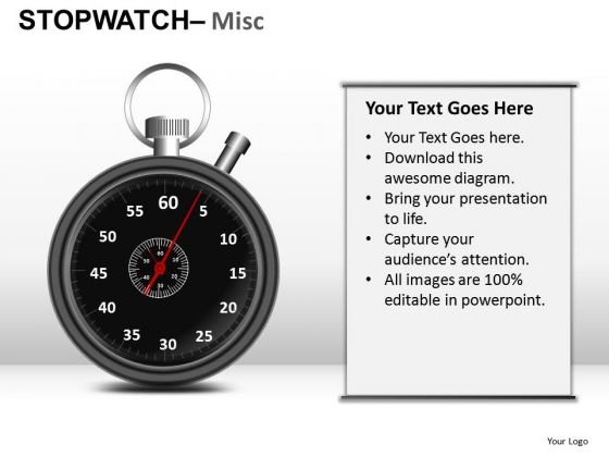 Travel Stopwatch Misc PowerPoint Slides And Ppt Diagram Templates