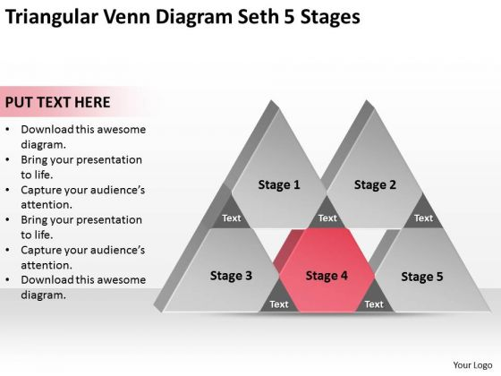 Triangular venn diagram seth 5 stages ppt write business plan triangular venn diagram seth 5 stages ppt write business plan template powerpoint slides powerpoint templates ccuart Images