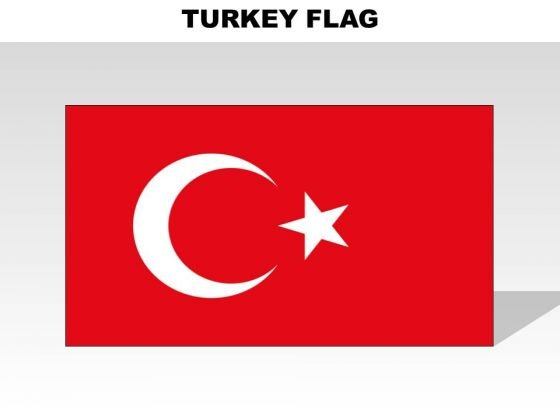 Turkey Country PowerPoint Flags