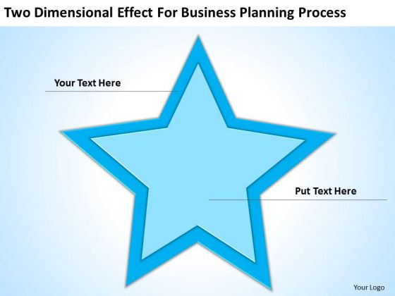 Two Dimensional Effect For Business Planning Process Ppt Good PowerPoint Templates