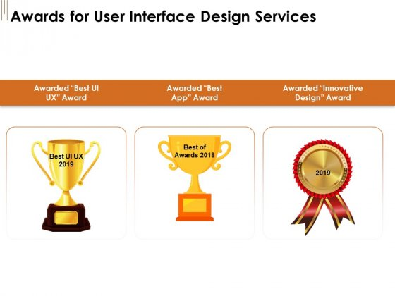 UI Software Design Awards For User Interface Design Services Ppt Pictures Graphics Design PDF