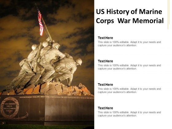 US History Of Marine Corps War Memorial Ppt PowerPoint Presentation Layouts Format