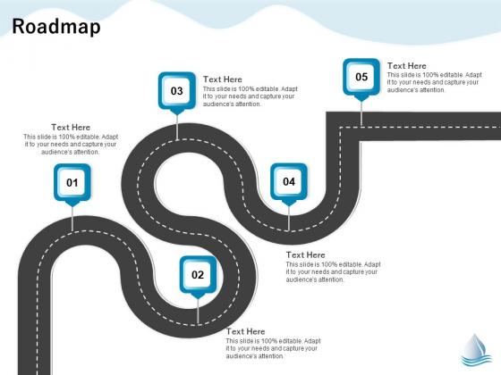 Underground Aquifer Supervision Roadmap Ppt Show File Formats PDF