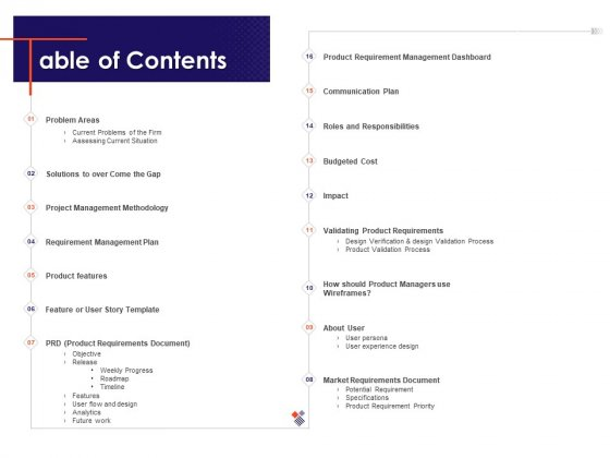 Understanding Business REQM Table Of Contents Ppt Model Example Introduction PDF
