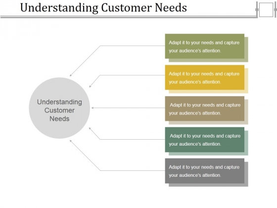Understanding Customer Needs Template 1 Ppt PowerPoint Presentation Ideas Icons