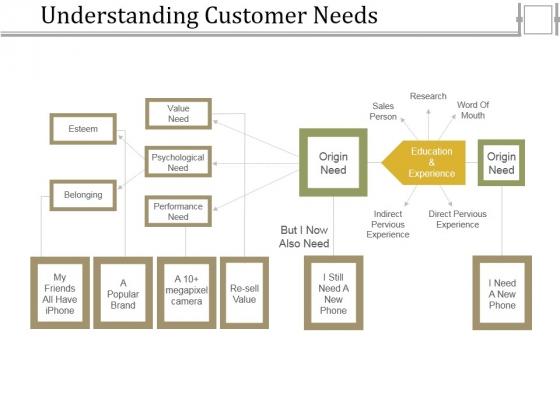 Understanding Customer Needs Template 2 Ppt PowerPoint Presentation Infographics Vector