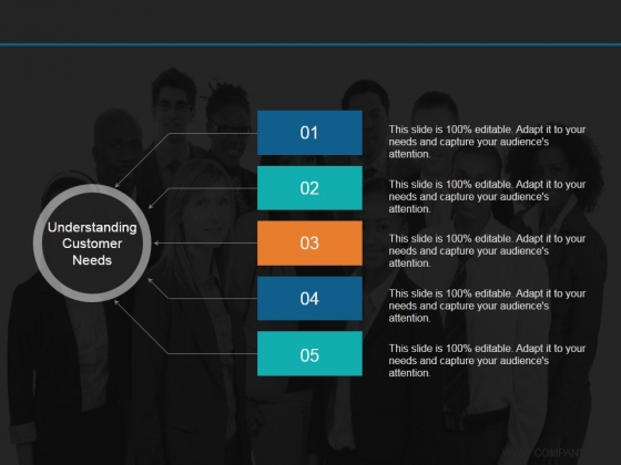 Understanding Customer Needs Template 2 Ppt PowerPoint Presentation Layouts Good