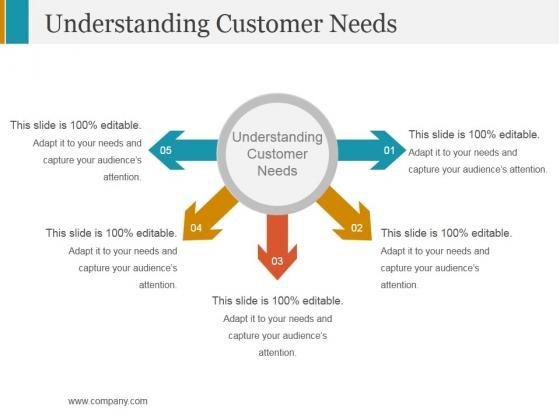 Understanding Customer Needs Template 2 Ppt PowerPoint Presentation Pictures Background