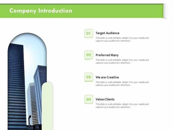 Understanding Organizational Structures Company Introduction Ppt Styles Deck PDF