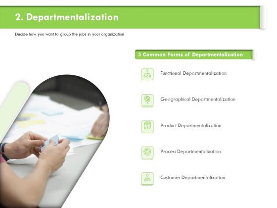 Understanding Organizational Structures Departmentalization Ppt Outline Master Slide PDF