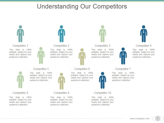 Understanding Our Competitors Ppt PowerPoint Presentation Shapes