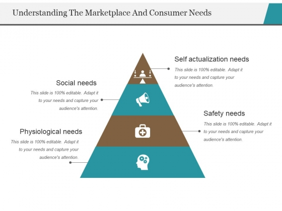 Understanding The Marketplace And Consumer Needs Template 1 Ppt PowerPoint Presentation Portfolio Diagrams