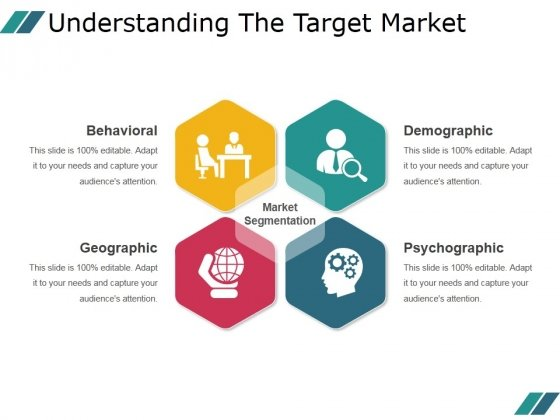 Understanding The Target Market Ppt PowerPoint Presentation Background Images
