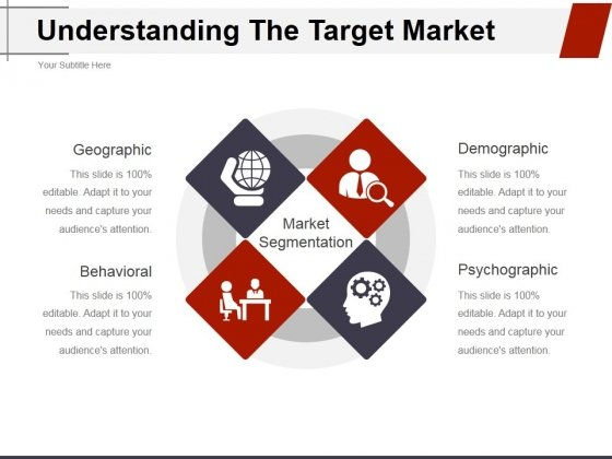 Understanding The Target Market Ppt PowerPoint Presentation Icon