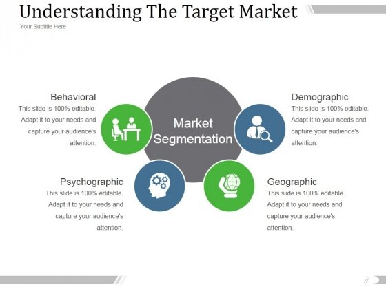 Understanding The Target Market Ppt PowerPoint Presentation Outline