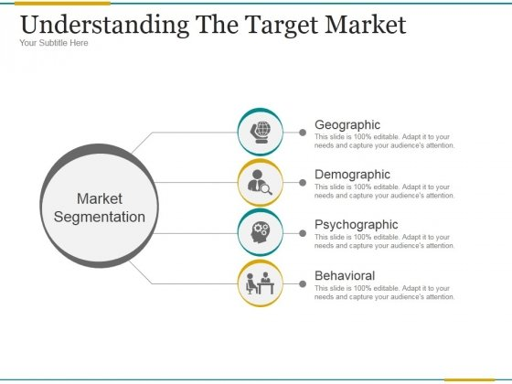 Understanding The Target Market Ppt PowerPoint Presentation Show