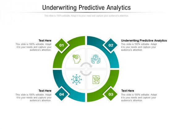 Underwriting Predictive Analytics Ppt PowerPoint Presentation File Structure Cpb Pdf