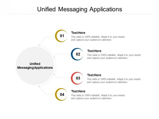 Unified Messaging Applications Ppt PowerPoint Presentation Summary Sample Cpb Pdf