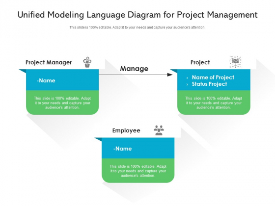 Unified Modeling Language Diagram For Project Management Ppt PowerPoint Presentation Professional Slide PDF