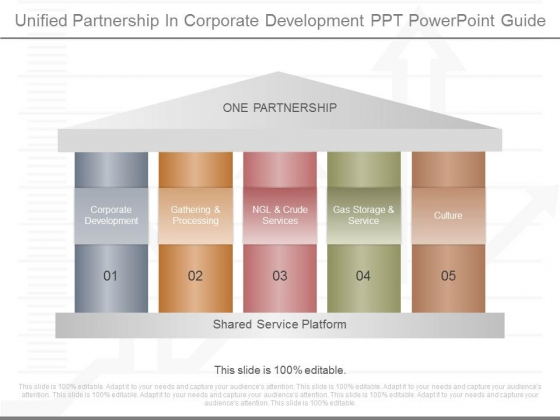 Unified Partnership In Corporate Development Ppt Powerpoint Guide