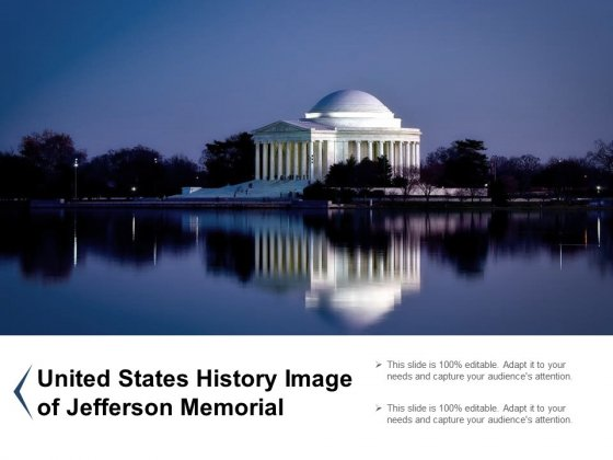 United States History Image Of Jefferson Memorial Ppt PowerPoint Presentation Ideas Diagrams