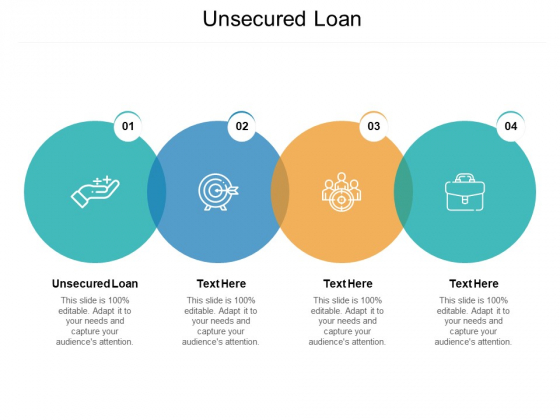 Unsecured Loan Ppt PowerPoint Presentation Outline Graphics Pictures Cpb