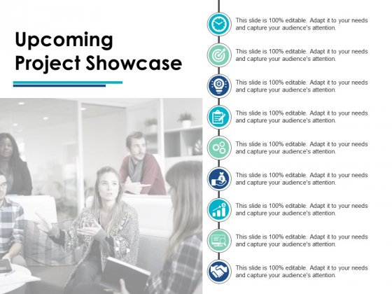 Upcoming Project Showcase Business Ppt PowerPoint Presentation Professional Show