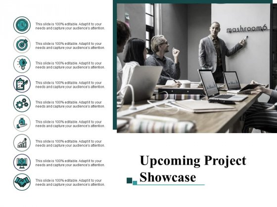 Upcoming Project Showcase Ppt PowerPoint Presentation Icon Demonstration