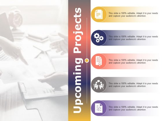 Upcoming Projects Ppt PowerPoint Presentation Icon Graphics Example