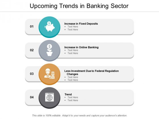 Upcoming Trends In Banking Sector Ppt PowerPoint Presentation Styles Summary
