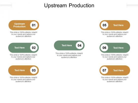 Upstream Production Ppt PowerPoint Presentation Summary Designs Cpb Pdf