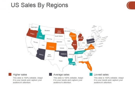 Us Sales By Regions Ppt PowerPoint Presentation Portfolio File Formats