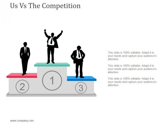 Us Vs The Competition Template 1 Ppt Powerpoint Presentation Layouts Grid