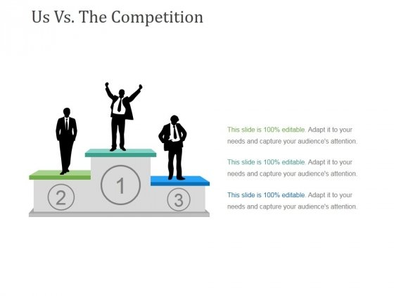 Us Vs The Competition Template 1 Ppt PowerPoint Presentation Slides Infographics