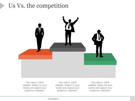 Us Vs The Competition Template 8 Ppt PowerPoint Presentation Examples